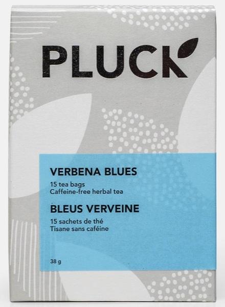Pluck - Herbal Tea - Verbena Blues - Caffeine Free - 15 Pack