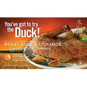 King Cole - Roast Half Duckling with Orange Sauce