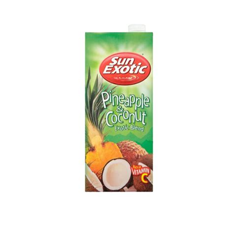 Sun Exotic - Pineapple & Coconut