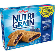 Kelloggs Nutri Grain Bar Blueberry