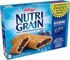 Kelloggs Nutri Grain Bar Blueberry