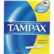 Tampax - Regular Unscented Tampons