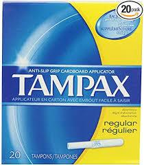 Tampax - Regular Unscented Tampons