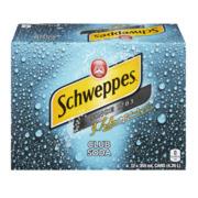 Schweppes - Club Soda - 12 Pack