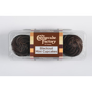 CCF - Blackout Mini Cupcake - 3 Pack