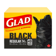 Glad Black Regular