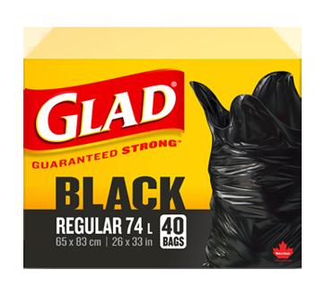 Glad Black Regular