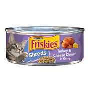 Friskies - Shredded Turkey & Cheese Dinner In Gravy