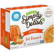 Simply Delish - Orange Jello