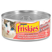 Friskies - Shredded Chicken & Salmon