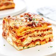 Homemade Halal Beef Lasagna