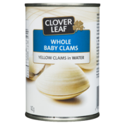 Cloverleaf - Whole Baby Clams