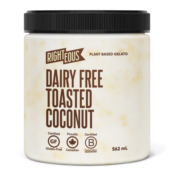 Dairy-Free Toasted Coconut Gelato