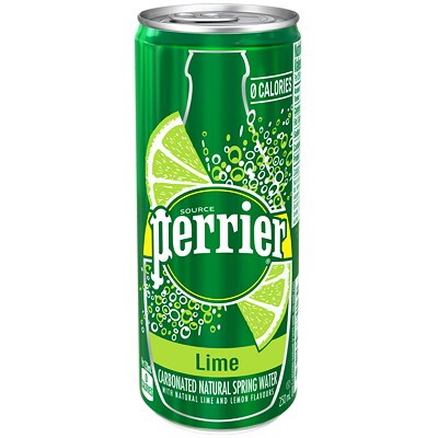 Perrier - Carbonated Natural Spring Water - Lime