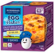 Burnbrae - Cheddar, Mushroom & Bacon Egg Bakes
