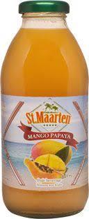 St. Maarten - Mango Papaya Juice