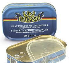 Italpasta - Flat Fillets of Anchovies