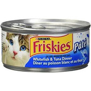 Friskies - Pate WhiteFish Tuna Dinner