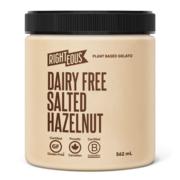 Dairy-Free Salted Hazelnut Gelato