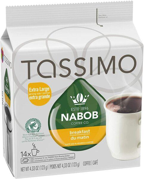 Tassimo - Nabob - Coffee - Breakfast