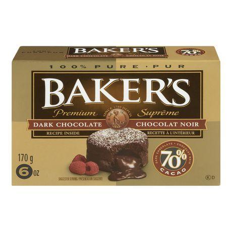 Bakers - Premium Dark Chocolate