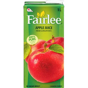 Fairlee - Apple Juice - 100% Pure