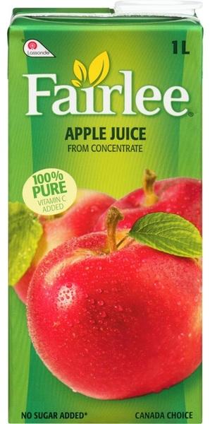 Fairlee - Apple Juice - 100% Pure