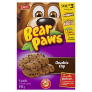 Dare Bear Paws Chocolate Chip