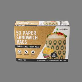 Paper Sandwich Bags - Avo