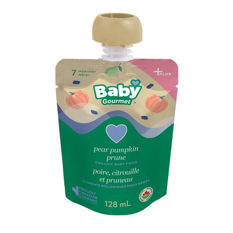 Baby Gourmet Pear Pumpkin Prune