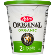Astro Original Balkan Yogourt Organic Plain