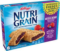 Kelloggs Nutri Grain Bar Mixedberry