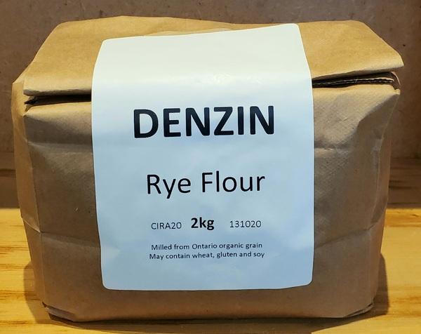 Denzin Stoneground Rye Flour