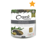 Organic Traditions - Dark Milled Chia