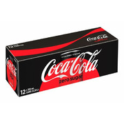 Coca-Cola - Zero Sugar - 12 Pack
