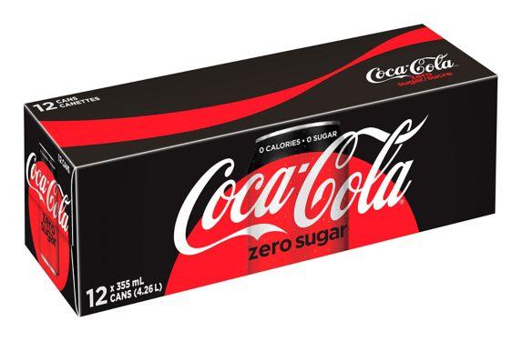 Coca-Cola - Zero Sugar - 12 Pack