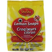 ShaSha - Organic Cookies - Lemon Snaps - Peanut Free