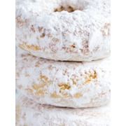 Annette's - Donuts - Powdered Sugar - 6 Rings