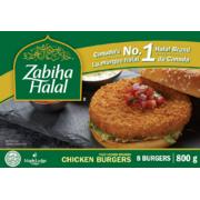 Zabiha Halal - Chicken Burgers