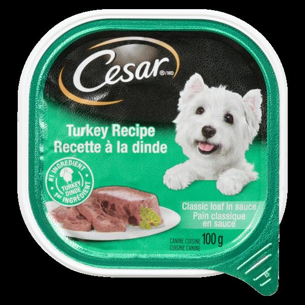 Cesar Wet - Dog Food Turkey