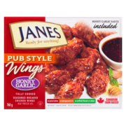 Janes Pub Style Wings - Honey Garlic
