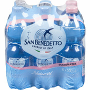 San Benedetto - Natural Mineral Water - 6 Pack