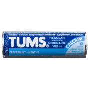 Tums - Regular Peppermint