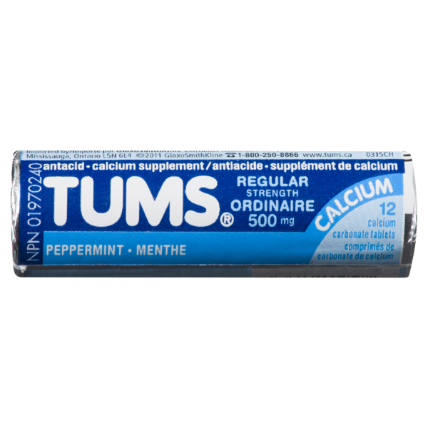 Tums - Regular Peppermint