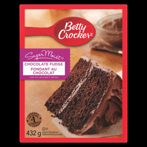 Betty Crocker - Super Moist Cake Mix - Chocolate Fudge