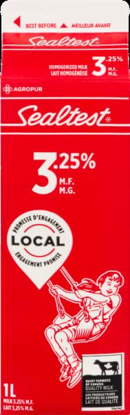 Sealtest - Homogenized 3.25% Milk