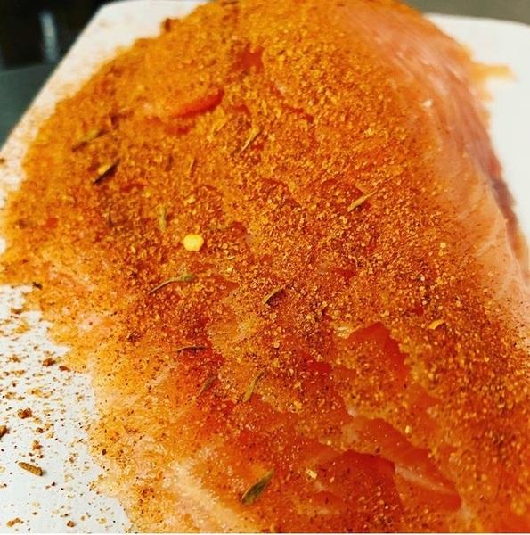The Smoke Bloke - Cajun Smoked Salmon