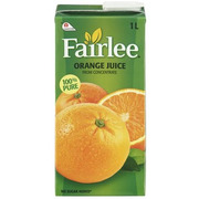 Fairlee - Orange Juice - 100% Pure