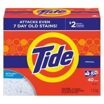Tide - Powder Original Scent 40 Use