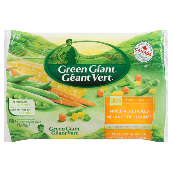Green Giant - Frozen Mixed Vegetables